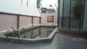 Cho thuê biệt thự đường Nguyễn Văn Hưởng 4PN sân vườn hồ bơi nhà đẹp thoáng mát