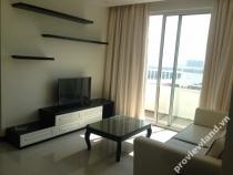Cho thuê căn hộ Tropic Garrden lầu cao nội thất đẹp mắt