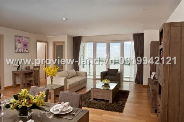 Cho thuê căn hộ Đảo Kim Cương Quận 2 view Sông 4PN