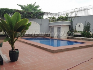 Thao Dien villa for rent,Area: 1000m2, frontage location with 4 bedrooms