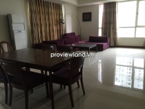 The Manor HCMC apartment for rent low floor 157sqm 3BRs view to river and District 1