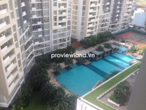 The Estella apartment for rent high floor 148sqm 3BRs fully furnished pool view