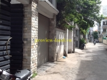 Beautiful villa for rent in Phu Nhuan district, wide alley for cars