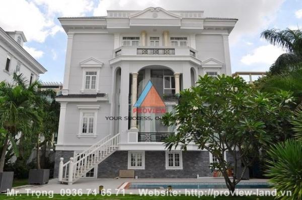 Bán biệt thự Thảo Điền khu compound mặt tiền sông saigon