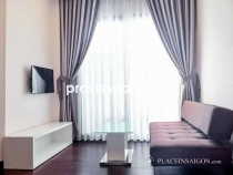 Serviced apartment for rent on Nguyen Van Cu 1BR modern furniture cool space