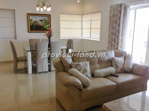 Căn hộ 2 phòng ngủ River Garden cho thuê nội thất đẹp