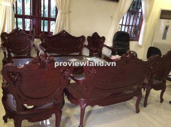 Villa Thảo Điền đường Võ Trường Toản có sân rộng rãi DT 348m2 cần bán gấp