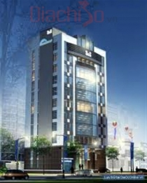 Sales office building facade Pho Duc Chinh, District 1 area of ​​450m2, 10 floors, floor area over 4000m2