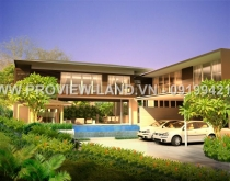 villa for sale in Thao Dien, district 2, Quoc Huong street, 670sqm