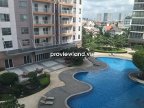 Apartment for rent in XI Riverview T1 tower 145sqm low floor 3BRs big balcony interior wall