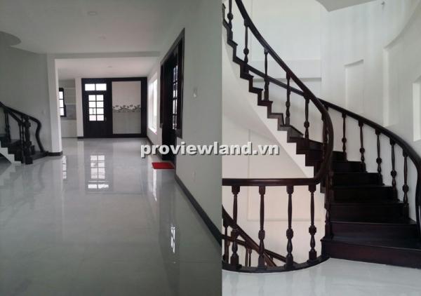 Cho thuê biệt thự đường Quốc Hương có sân vườn gara 4PN