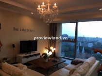 Vincom Dong Khoi apartment for rent 150sqm 3BRs church view basic furniture