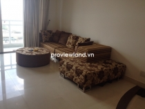 Fideco Riverview apartment for rent low floor 140sq 3BRs with oak wood furniture