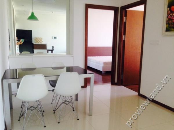 Cho thuê căn hộ Thảo Điền Pearl 120m2 2 phòng ngủ