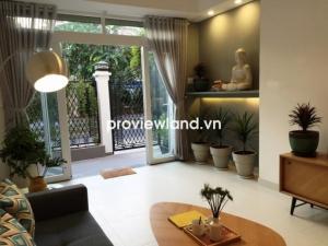 Bán biệt thự Fideco Thảo Điền 140m2 1 trệt 2 lầu 4PN có ban công sân thượng