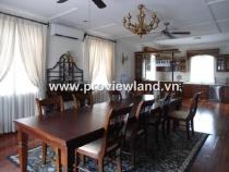 Cho thuê Villa Thảo Điền Quận 2 diện tích đất 500m2 gồm 5PN - 7WC