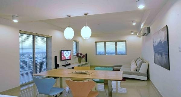 Cho thuê Duplex River Garden nhà rộng giá tốt