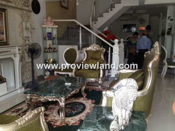 House for sale with frontage in Vo Van Tan street District 3, area of 7.4 x 17.3m