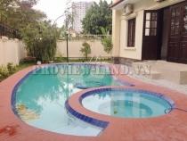 Cho thuê villa compound Nguyễn Văn Hưởng 600m2 hồ bơi đẹp