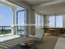 Villa for rent in Saigon Pearl saigon river corner