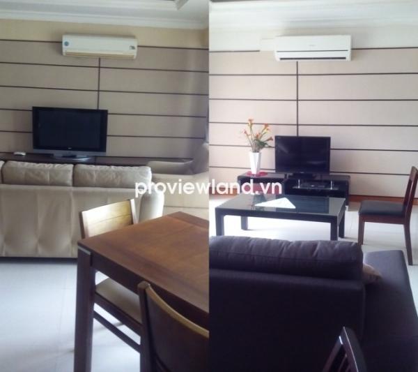 Cho thuê căn hộ 2PN 1 phòng làm việc Cantavil An Phú tầng thấp nhiều tiện ích cao cấp