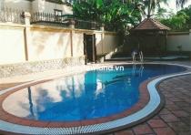Cho thuê biệt thự 800m2 5PN Thảo Điền đường Trần Ngọc Diện sân vườn hồ bơi riêng