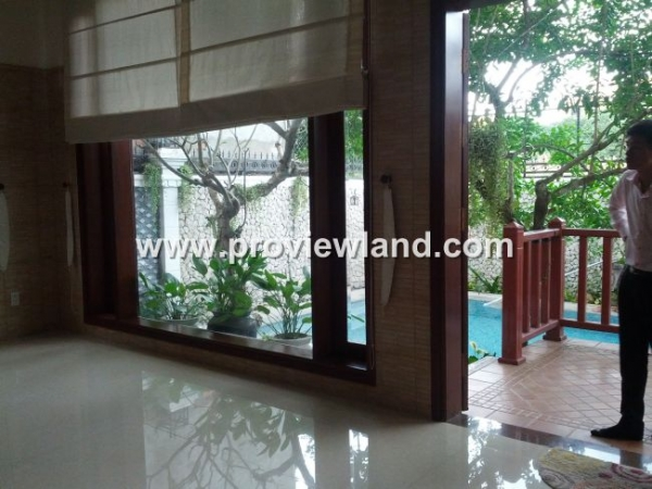 Villa Thao Dien for rent riverview District 2