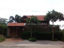 Cho thuê biệt thự cổ Thảo Điền Quận 2, khúc đường Nguyễn Văn Hưởng