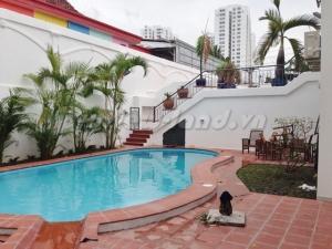 Cho thuê villa Thảo Điền 4 PN nhà mới xây hồ bơi đẹp