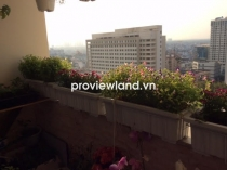 Leasing Hung Vuong apartment high floor 130sqm 3beds has balcony and pool view