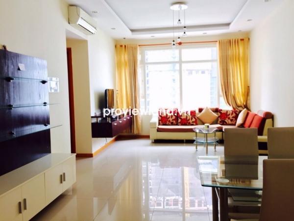 Bán căn hộ Saigon Pearl tòa Ruby 2 85m2 2PN view sông và Quận 2