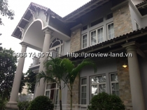 For renting Villa Thao Dien 750sqm with pool and garden