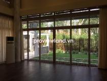 Cho thuê biệt thự Riviera Cove 540m2 1 trệt 2 lầu 4PN sân vườn nội thất tích hợp điều khiển thông minh