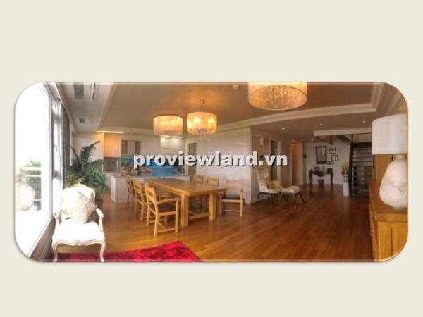 Căn Penthouse Cantavil Hoàn Cầu DT305m2 5PN sân vườn đầy đủ nội thất cần bán giá tốt