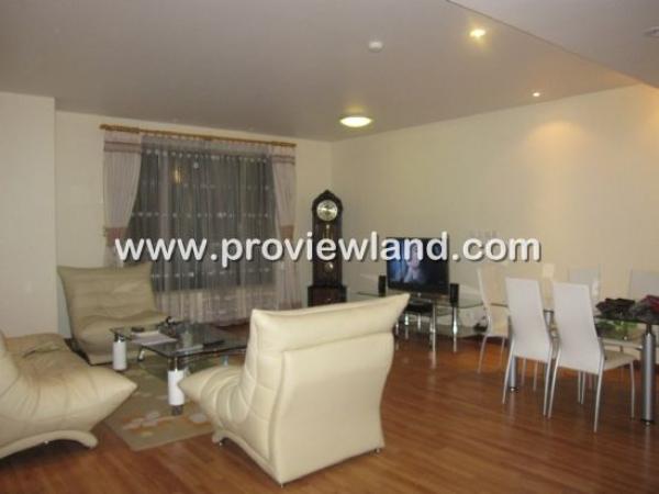 Cho thuê căn hộ The Lancaster Q1, tầng 12, 3 phòng ngủ