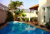 Cho thuê biệt thự Kim Sơn Thảo Điền DT sân vườn hồ bơi rộng rãi xanh mát