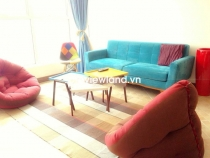 Cho thuê căn hộ tầng cao 3PN Thảo Điền Pearl nội thất đầy đủ thiết kế hiện đại