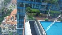 Cho thuê căn hộ Vincom Center Đồng Khởi 3 phòng ngủ view thành phố