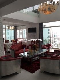 Cho thuê căn Penthouse cao cấp Hoàng Anh Riverview 252m2 - 3 PN thiết kế đẹp mắt