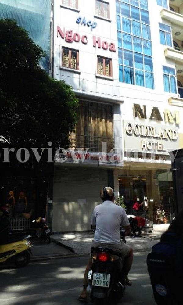 Cho thuê nhà phố mặt đường Nguyễn Trãi rất đẹp