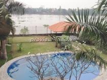 Villa thảo điền mặt tiền sông cho thuê tại quận 2