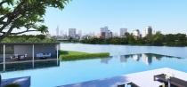 Bán đất mặt tiền Xa Lộ Hà Nội Q2 dt 850m2 cách cầu Saigon 200m