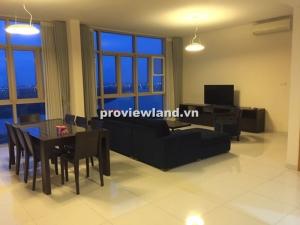 Căn hộ The Vista cho thuê tháp T3 tầng cao 171m2 4PN nội thất cao cấp view sông Sài Gòn