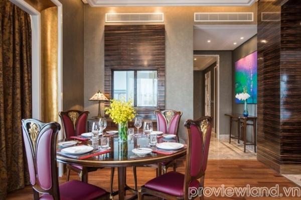 Cho thuê căn hộ dịch vụ đường Nguyễn Huệ 2 phòng ngủ nội thất Ý